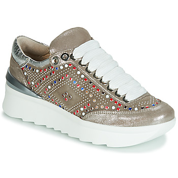 Shoes Women Low top trainers Now 5357-008 Beige / Glitter