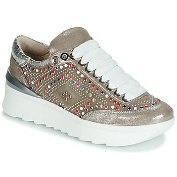 Shoes Women Low top trainers Fru.it 5357-008 Beige / Glitter