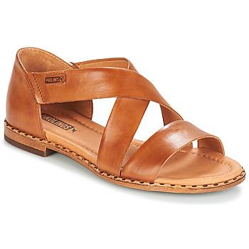 Shoes Women Sandals Pikolinos ALGAR W0X Brown