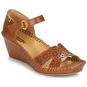 Shoes Women Sandals Pikolinos MARGARITA 943 Brown