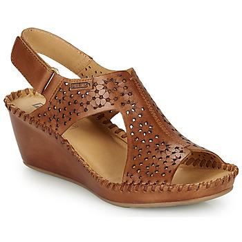 Shoes Women Sandals Pikolinos MARGARITA 943 Brown