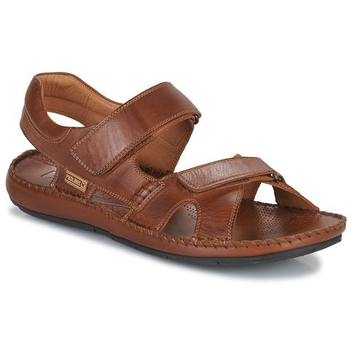 Shoes Men Sandals Pikolinos TARIFA 06J Camel
