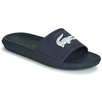Shoes Men Sliders Lacoste CROCO SLIDE 119 1 Marine / White