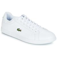 Shoes Men Low top trainers Lacoste GRADUATE BL 1 White
