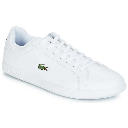 Shoes Men Low top trainers Lacoste GRADUATE BL 1 White