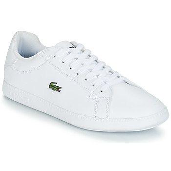 Shoes Women Low top trainers Lacoste GRADUATE BL 1 White