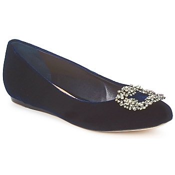 Shoes Women Flat shoes Sebastian ELIAJU Blue