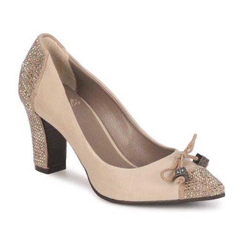 Shoes Women Heels Fabi PASQUA Beige