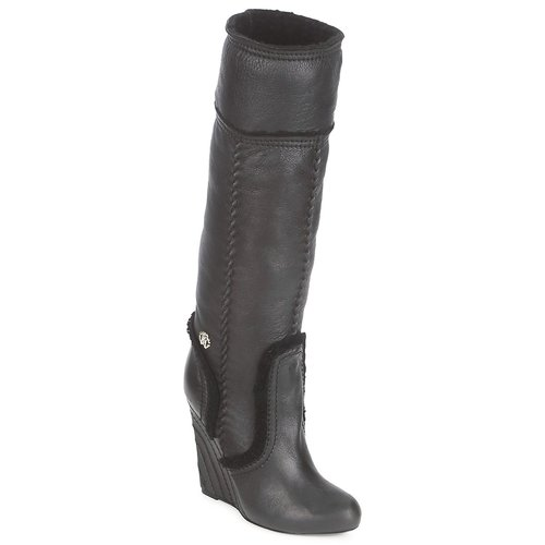 Shoes Women High boots Roberto Cavalli QDS598-PJ007 Black