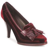 Shoes Women Heels Roberto Cavalli QDS629-VL415 Red / Bordeaux