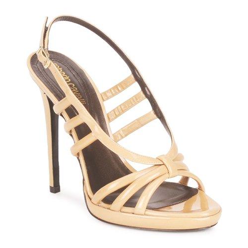 Shoes Women Sandals Roberto Cavalli QDS626-PL028 Beige