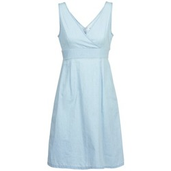 Clothing Women Short Dresses Vero Moda JOSEPHINE Blue / Clear