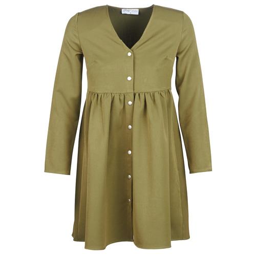 Clothing Women Short Dresses Betty London J.PRETTY TIME Kaki