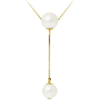 Watches Women Necklaces Blue Pearls BPS K033 W Multicolored