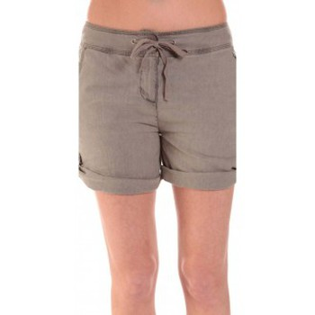 Clothing Women Shorts / Bermudas Sud Express SHORT SATIL TAUPE Brown