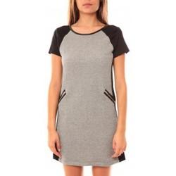 Clothing Women Short Dresses Coquelicot Robe CQTW14225 Noir/Gris Black