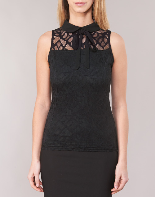 Morgan DINCO Black - Free delivery  ! - Clothing Blouses Women   24.79