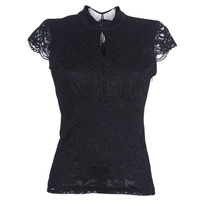 Clothing Women Tops / Blouses Morgan DNEMA Black