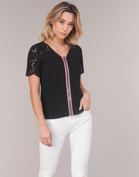 Clothing Women Tops / Blouses Morgan OSALI Black