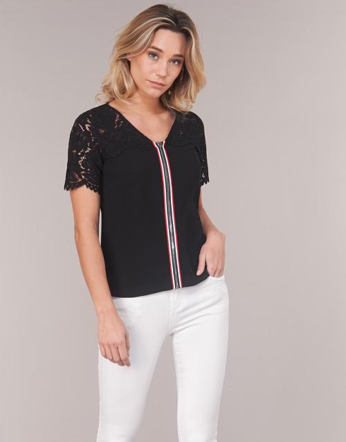 Clothing Women Tops / Blouses Morgan OSALI Black