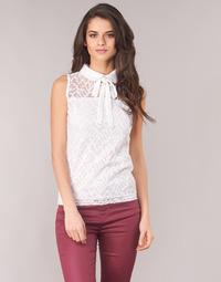 Clothing Women Tops / Blouses Morgan DINCO White