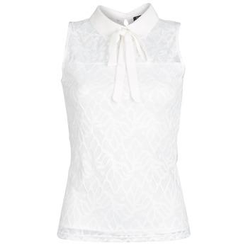 Clothing Women Tops / Blouses Morgan DINCO White