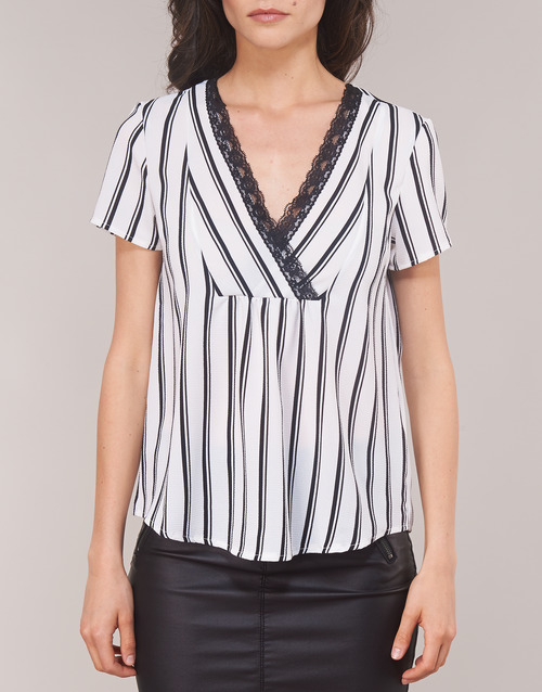 Morgan Ofrey White - Free Delivery Clothing Blouses Women 2519 Sale