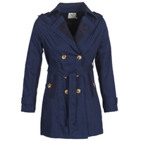 Clothing Women Trench coats Smash ANNABEL Marine