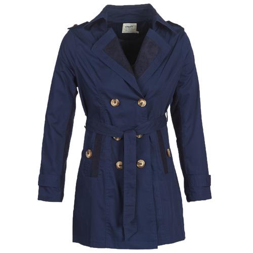 Clothing Women Trench coats Smash ANNABEL Marine