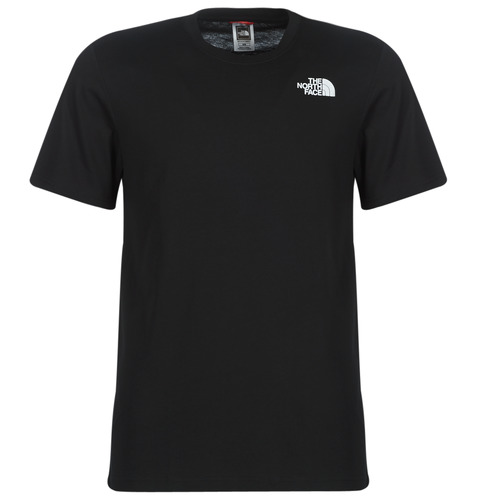 Clothing Men short-sleeved t-shirts The North Face MEN'S S/S REDBOX TEE Black