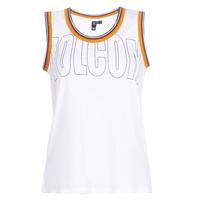 Clothing Women Tops / Sleeveless T-shirts Volcom IVOL TANK White