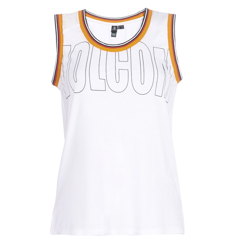 Clothing Women Tops / Sleeveless T-shirts Volcom IVOL TANK White