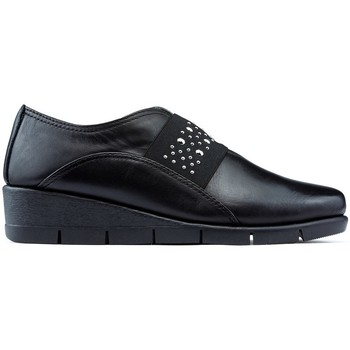 Shoes Women Loafers The Flexx Shoes  PAN GRATT BLACK