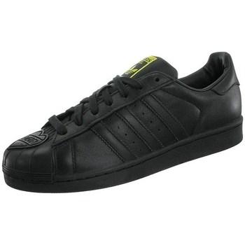 Shoes Men Low top trainers adidas Originals Superstar Pharrell Supershell Black