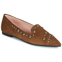 Shoes Women Loafers Pretty Ballerinas ANGELIS Brown