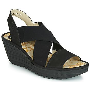 Shoes Women Sandals Fly London YAJI Black