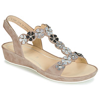 Shoes Women Sandals Ara CAP-HS Brown