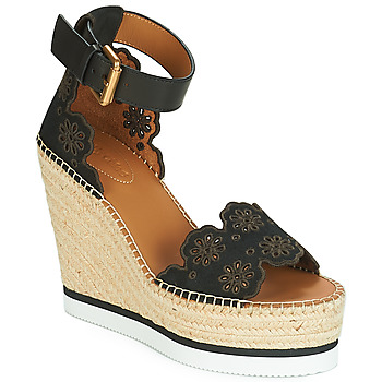 Shoes Women Espadrilles See by Chloé SB30202 Black