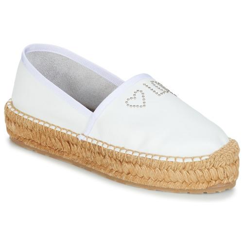 Shoes Women Espadrilles Love Moschino JA10163G07 White