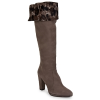 Shoes Women High boots Stuart Weitzman ZOOKEEPER Stone