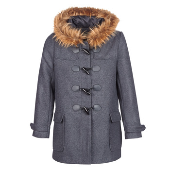 Clothing Women Coats Casual Attitude HAIELL Grey