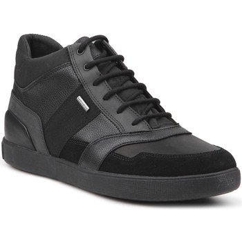 Shoes Men Hi top trainers Geox U Taiki B ABX C U841UC-022BU-C9999 black