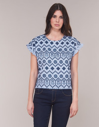 Clothing Women Tops / Blouses Molly Bracken MOLLIUTE Marine