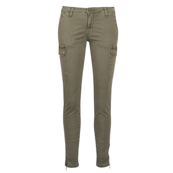 Clothing Women Cargo trousers Le Temps des Cerises ARMY Kaki
