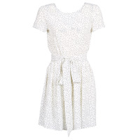 Clothing Women Short Dresses Le Temps des Cerises MARILYN White