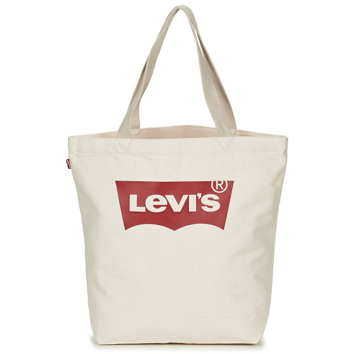 Bags Women Shopping Bags / Baskets Levi's Batwing Tote W Ecru
