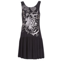 Clothing Women Short Dresses Desigual OMAHAS Black