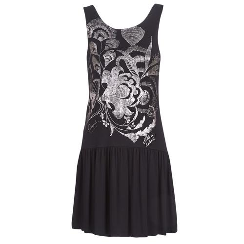 Clothing Women Short Dresses Desigual OMAHAS Black