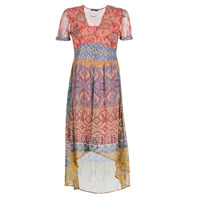 Clothing Women Long Dresses Desigual NANA Multicolour