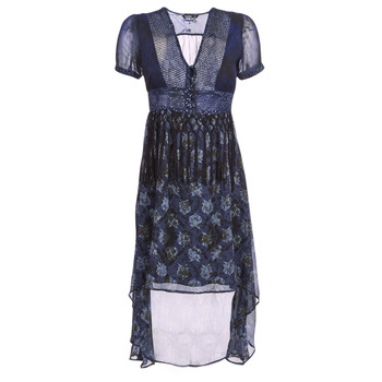 Clothing Women Long Dresses Desigual MINALI Marine